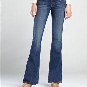 Lucky Brand flare 4/27 Jean Monsanto denim jeans